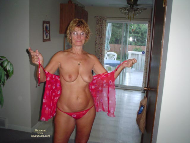 Pic #1 - 57 Year Old Canadian Wife At Home