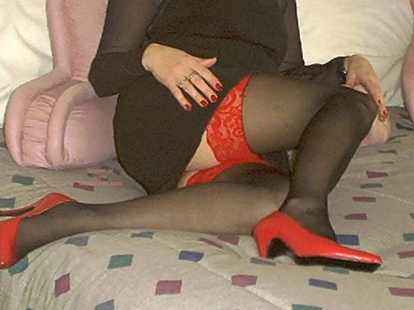 Pic #1 - Sexy Girlfriend with Stockings!