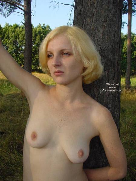 Pic #3 - Beauty White Girl in Forest 2
