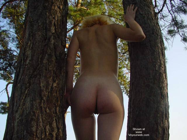 Pic #7 - Beauty White Girl in Forest 2