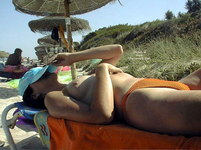 Pic #5 - Wife On Vacation