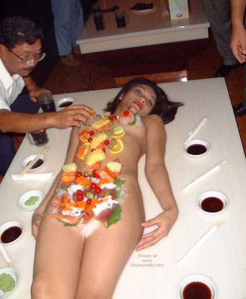 Pic #2 - Indonesian Sushi Table