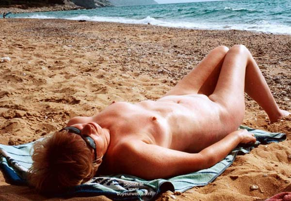 Pic #1 - Naked On The Beach