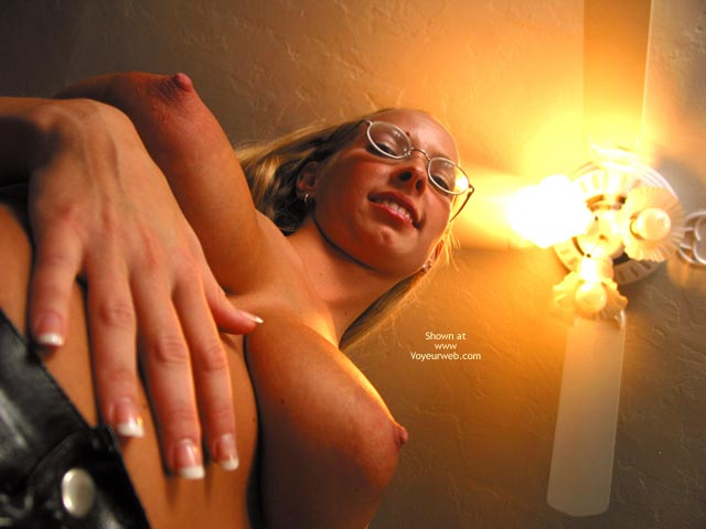Pic #5 - Brittney In Glasses And Latex