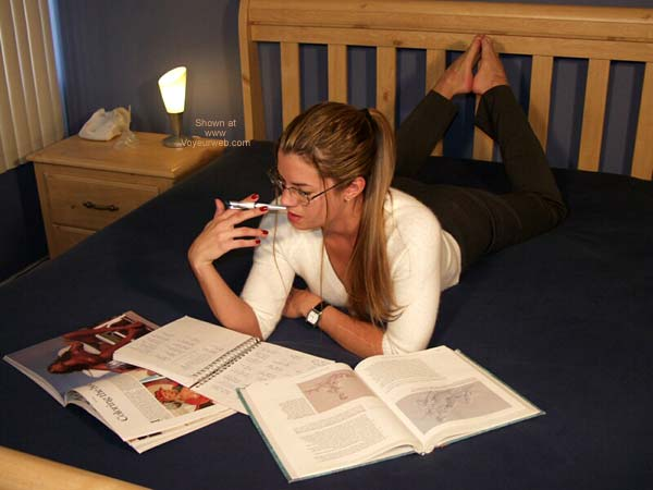 Pic #1 - Nikki ;)~ Studying 1