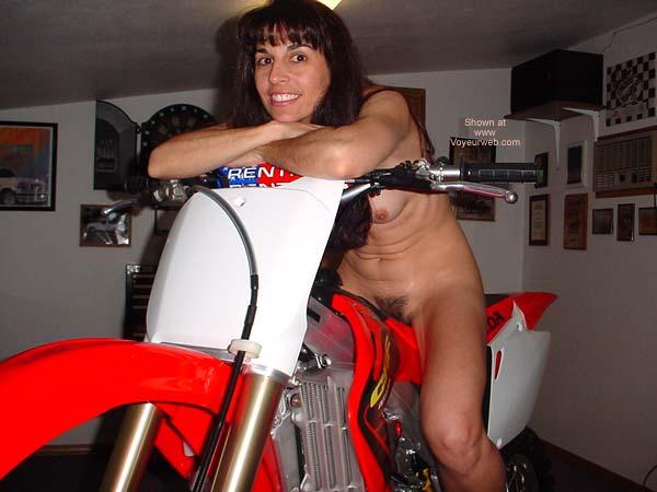 Pic #3 - Brunette7 - Virgin Bike