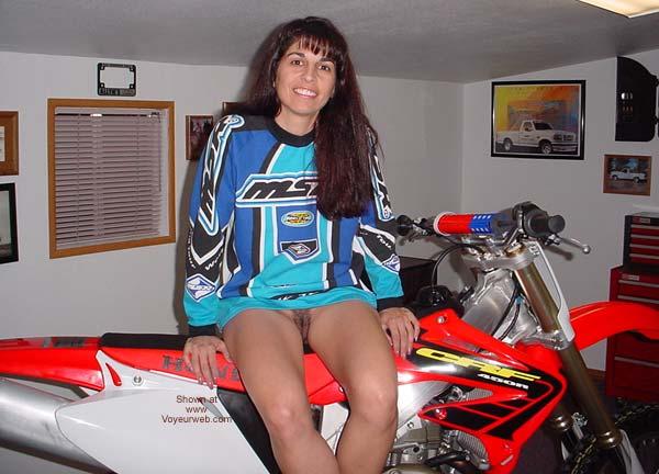 Pic #8 - Brunette7 - Virgin Bike