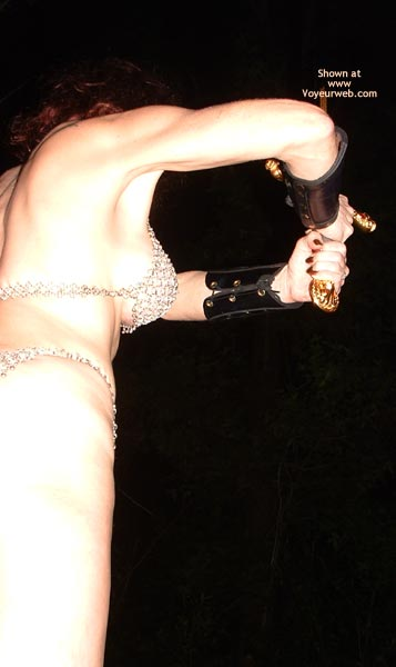 Pic #5 - Chain Mail Chick