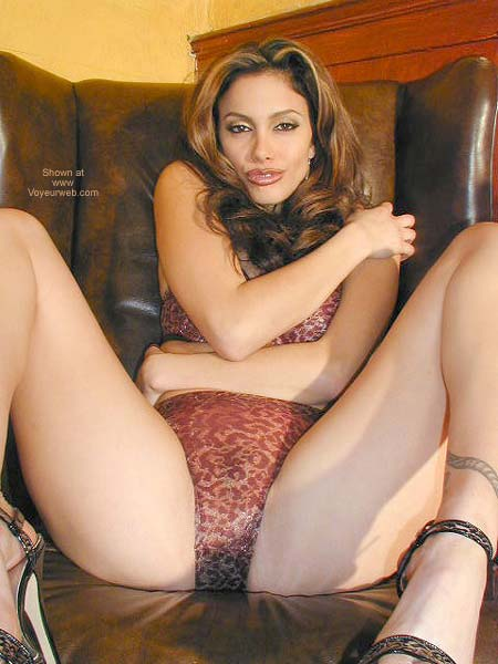 Pic #6 - Sexy Val On The Recliner