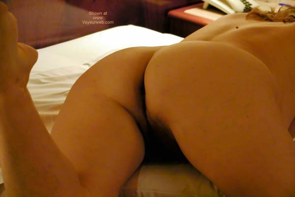 Pic #4 - Dafne Alone in The Hotel Room