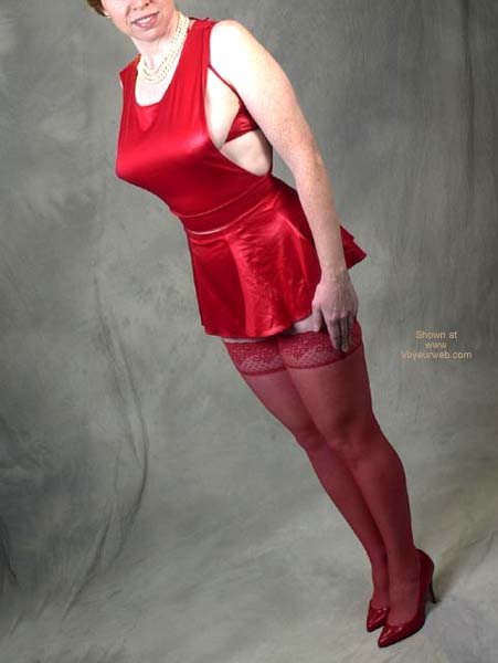 Pic #1 - Liz Red Outfit 9