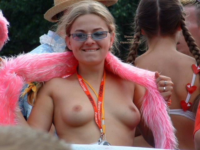 Pic #5 - Flashing At The Parade