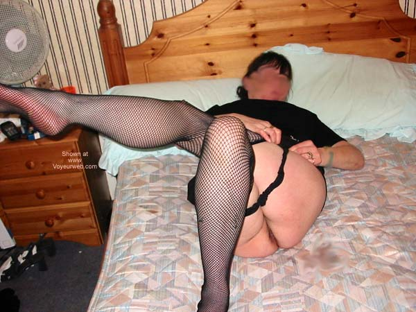 Pic #7 - My Wife in Fishnets