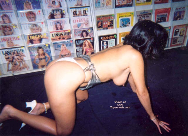 Pic #7 - Angie At The Playboy Store Part 2