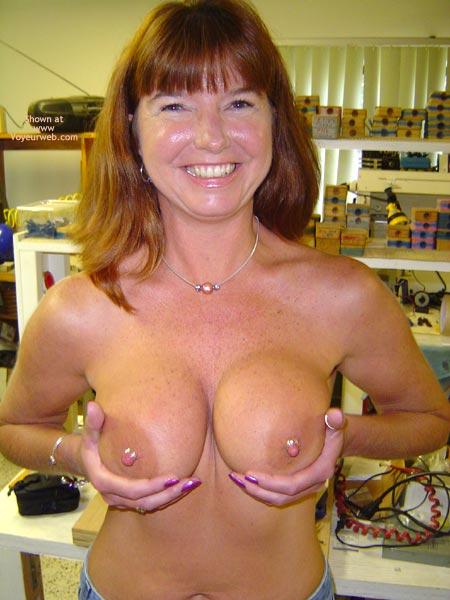 Pic #4 - Suck On Nipple Rings, Step By Step