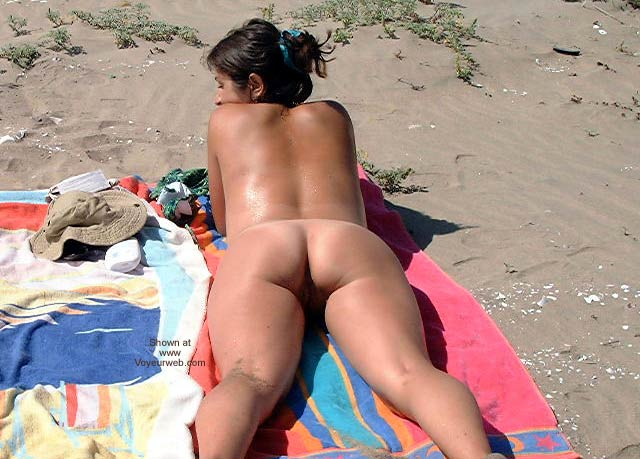 Pic #10 - Lingerie On The Beach 2