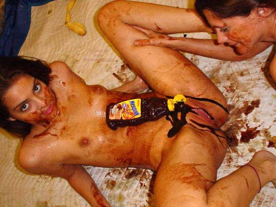 Pic #1 - *GG Two Girls with Chocolate Syrup Gets Messy