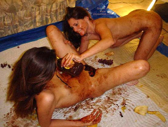 Pic #2 - *GG Two Girls with Chocolate Syrup Gets Messy