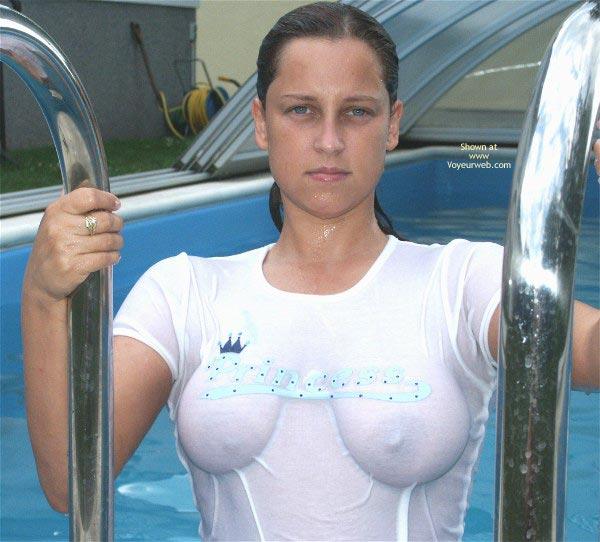 Pic #3 - De Princess Wet T-Shirt