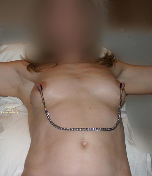 Pic #1 - Flasherbeth Makes Her Nipples Hard