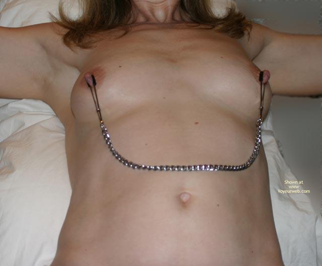 Pic #2 - Flasherbeth Makes Her Nipples Hard
