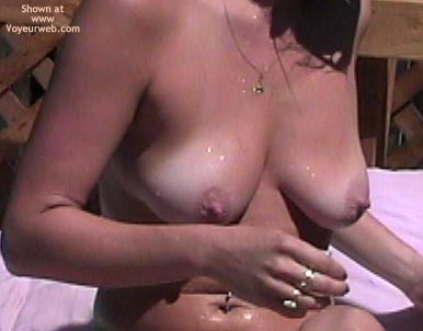 Pic #1 - Caught Wife Topless