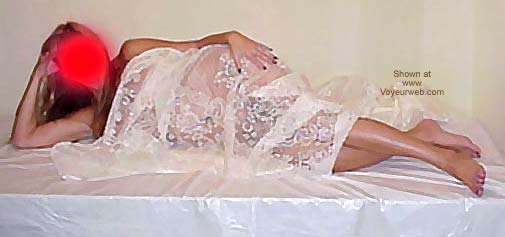 Pic #3 - Wife's Posing with Lace