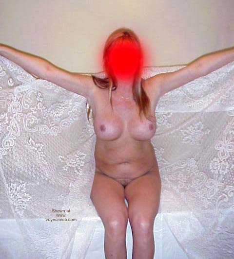 Pic #6 - Wife's Posing with Lace