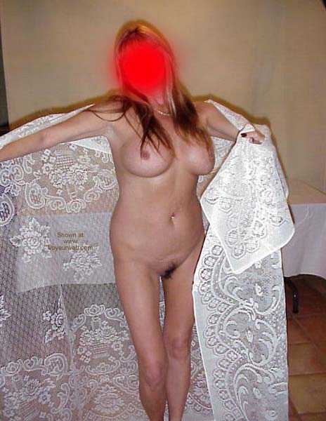 Pic #9 - Wife's Posing with Lace