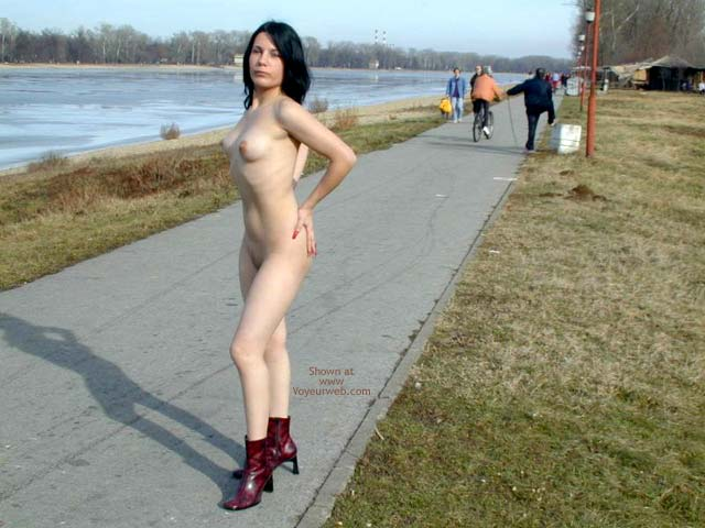 Pic #4 - Completely Naked On a Cold Day