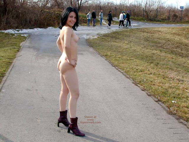 Pic #8 - Completely Naked On a Cold Day 2