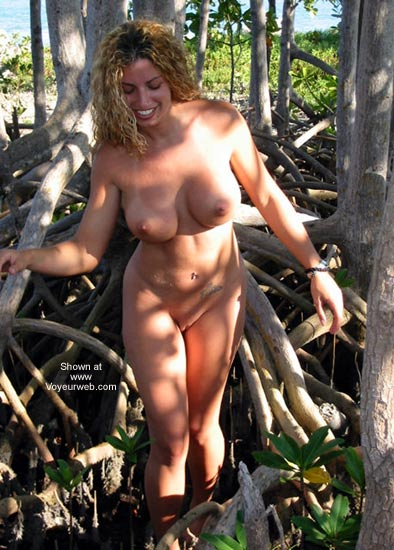 Pic #7 - Nikki in The Mangroves