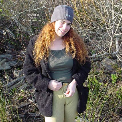Pic #5 - Becca in The Woods