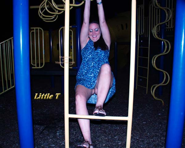 Pic #2 - Little T at The Playground