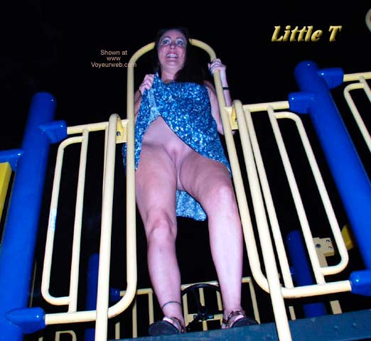 Pic #4 - Little T at The Playground