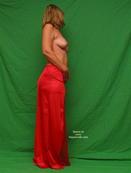 Pic #2 - Red Gown
