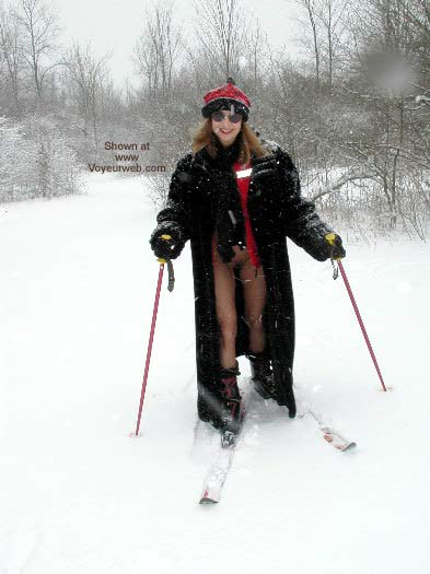 Pic #4 - Natalie On Ski Patrol