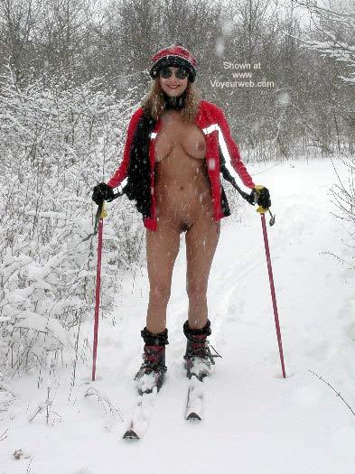 Pic #5 - Natalie On Ski Patrol