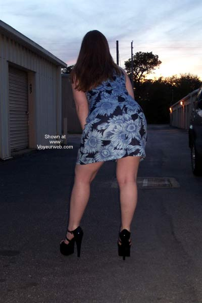 Pic #5 - Stephanie's Blue Dress