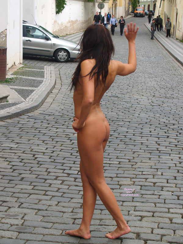 With you Natural nude in street of tokio join
