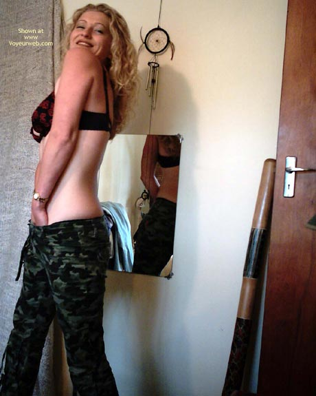 Pic #2 - Cant Stay In Her Camo,S