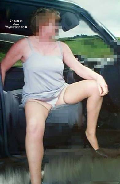 Pic #5 - Jane In The Car