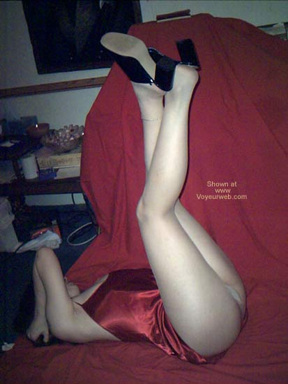 Pic #4 - Fascinated with my legs