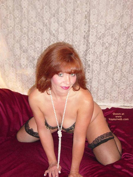 Pic #3 - Paige Pearls And Stockings 2