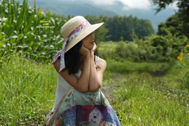 Pic #3 - Satomi At Corn Field