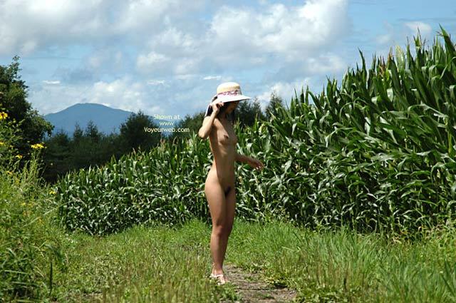 Pic #4 - Satomi At Corn Field