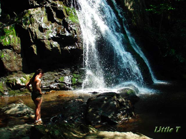 Pic #1 - Little T at Waterfall