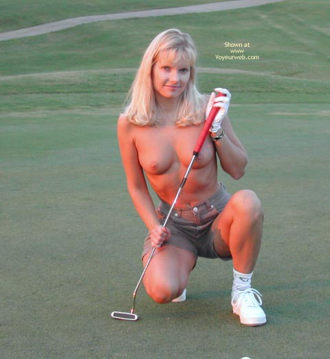 Pic #4 - Paige Naked Golf Girl