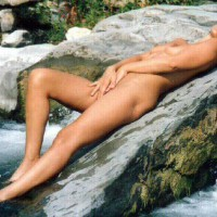 Nude at The Falls 1