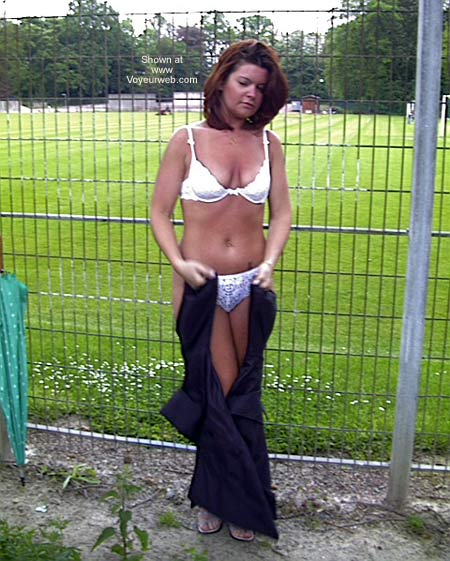 Pic #1 - Sexy French Girlfriend Outdoors 1